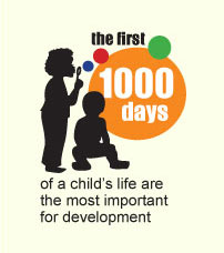 A growing body of research suggests the first 1000 days of a child's life – the 9 months in the womb and the first 2 years out of it – are vital to their long-term health and life prospects