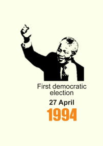 The SA general election of 27 April 1994 marked the end of apartheid, and was the first where all adults in SA could vote. 27 April is now a public holiday in SA, Freedom Day.